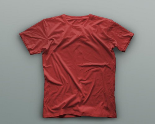 t-shirt example red